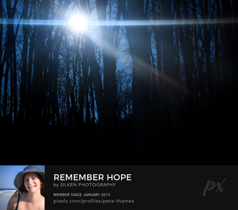 Hope Abstract by Peta Thames