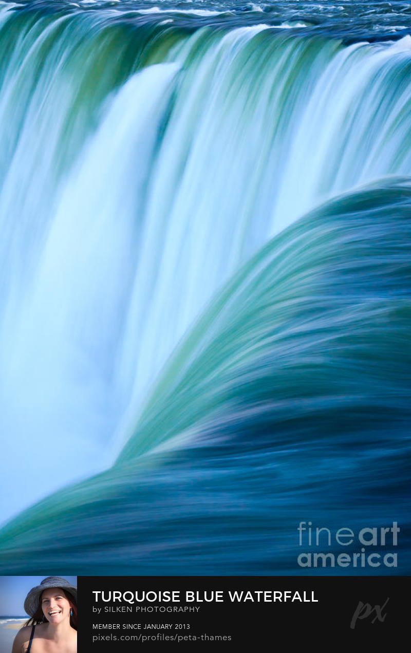 Niagara Falls Abstract by Peta Thames