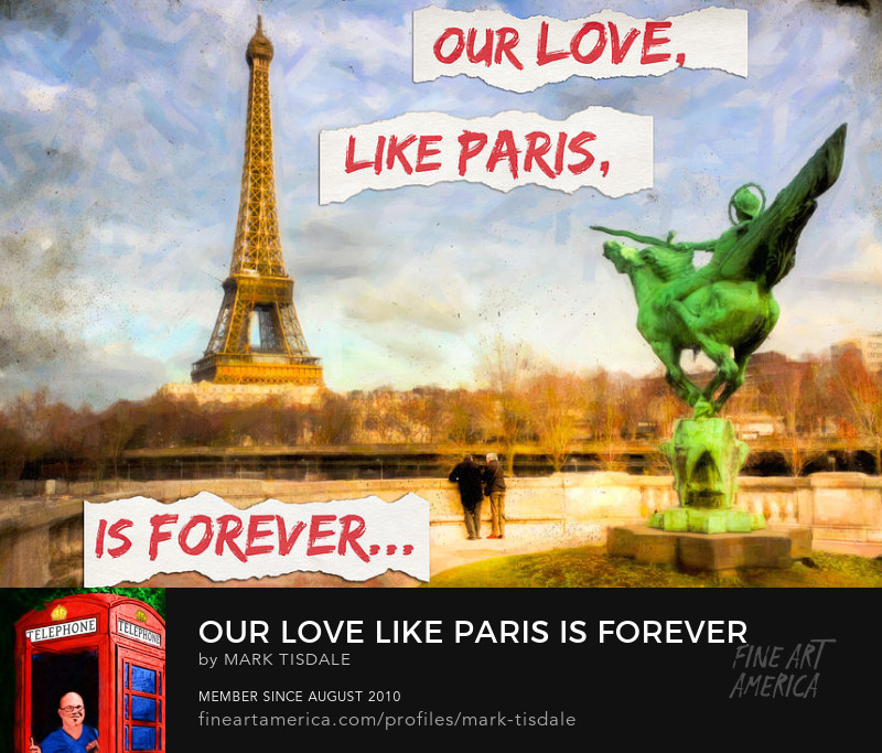 Our Love Like Paris is Forever