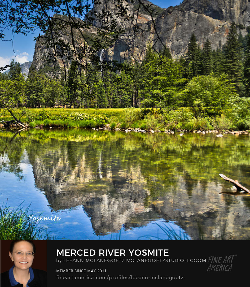McLaneGoetzStudioLLC.com Print Merced River Yosemite National Park California