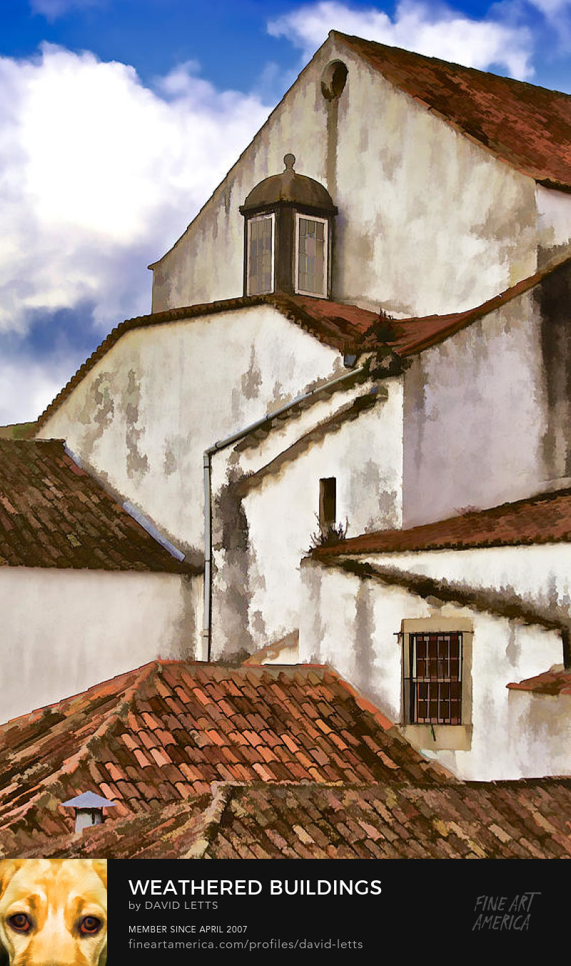 Medieval Village Obidos Portugal photograph for sale by David Letts