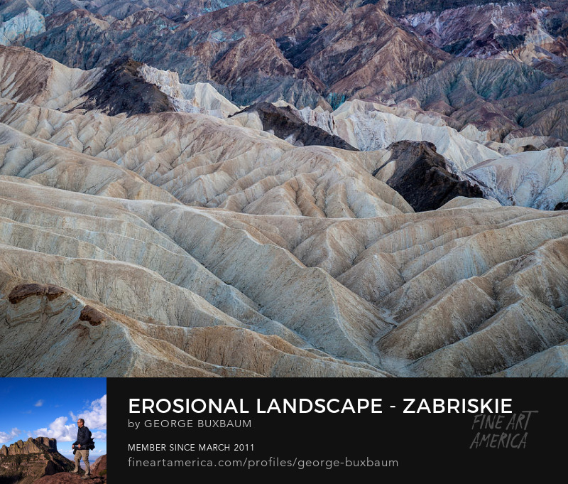 Death Valley Zabriske Point National Park george buxbaum