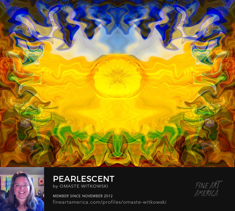 Pearlescent Reflections Art Prints