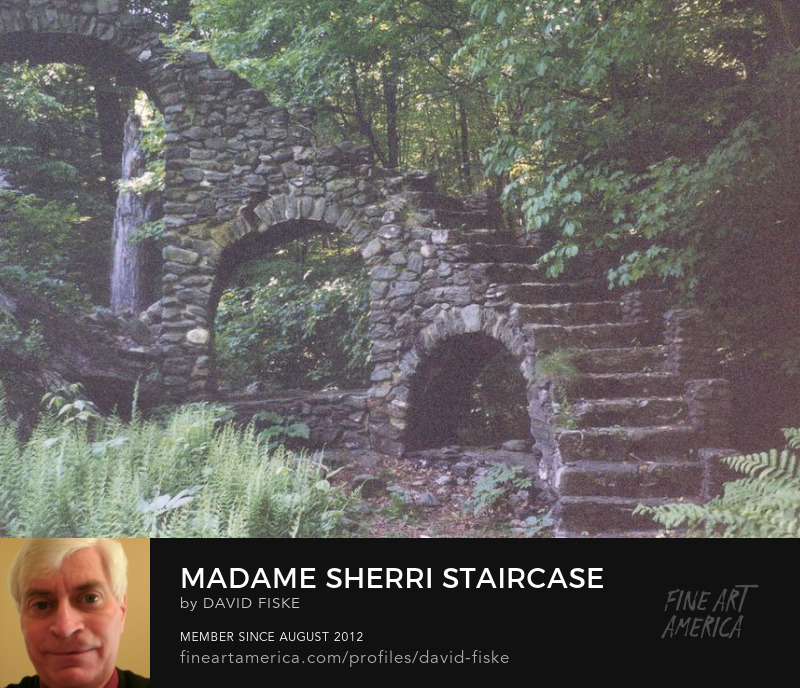 Photo, Madame Sherri Staircase