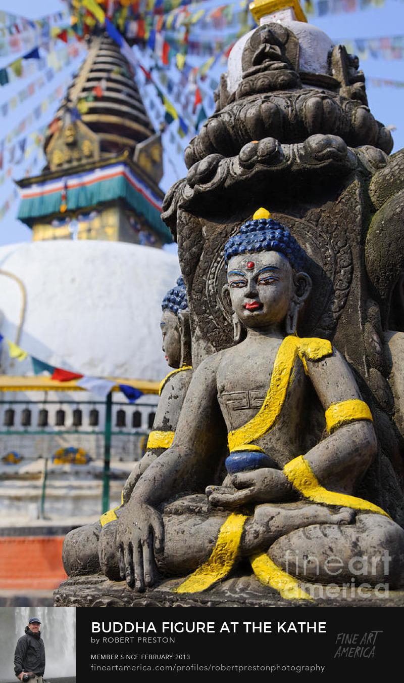 Buddha sculpture at Kathesimbhu stupa in Kathmandu
