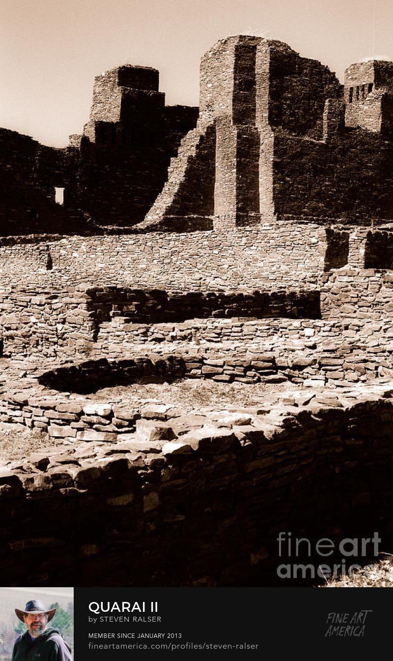 Quarai ruins Salinas National Monument, NM