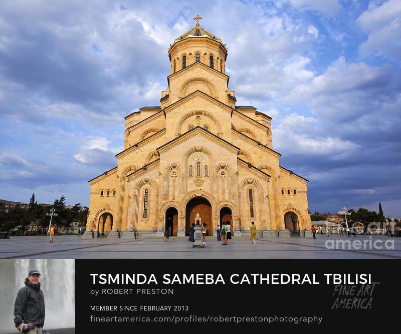 Tsminda Cathedral Tbilisi Georgia
