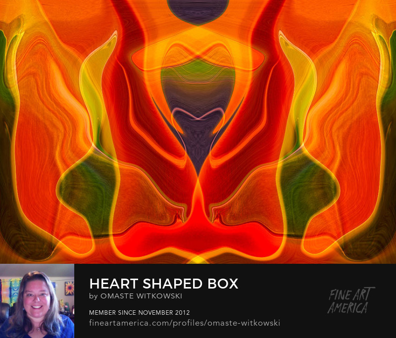 Heart Shaped Box Refections Photography Prints