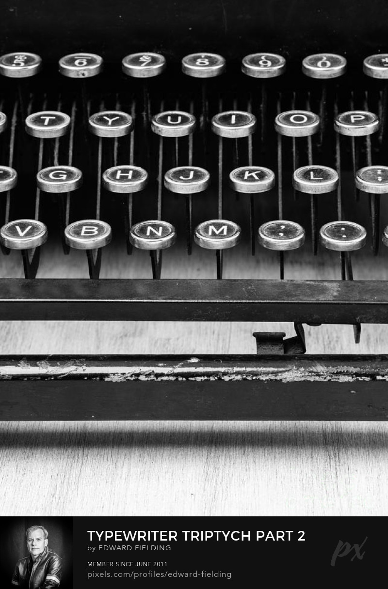 typewriter Photography Prints