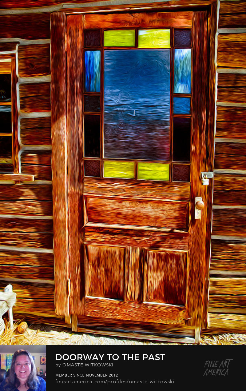 Doorway To The Past Abstract Photography Art Prints