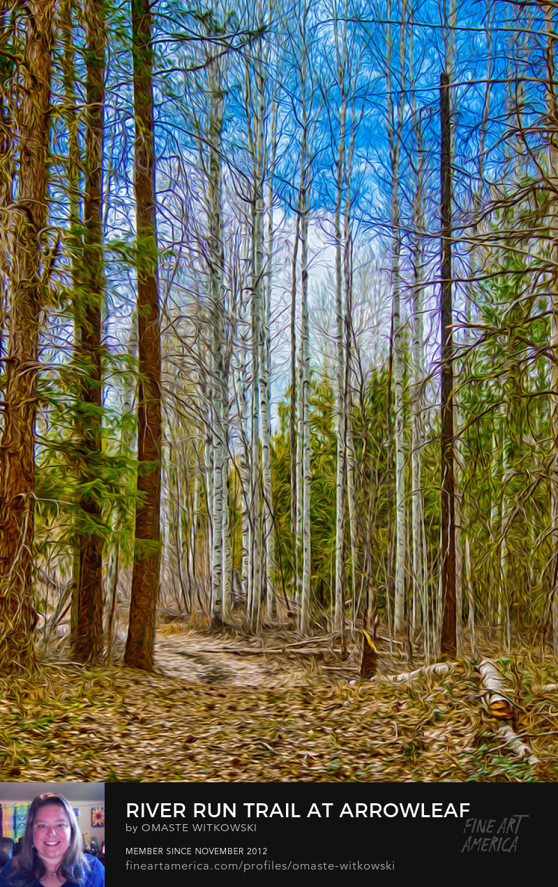 River Run Trail At Arrowleaf Methow Valley Trails