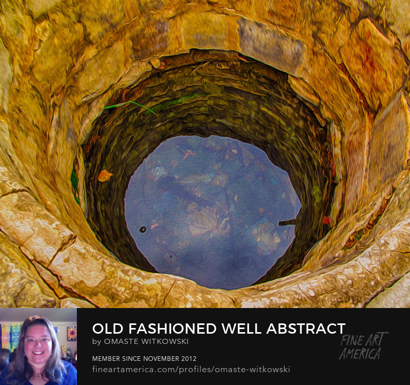 Old Fashioned Well Abstract Antique Collections Art Prints