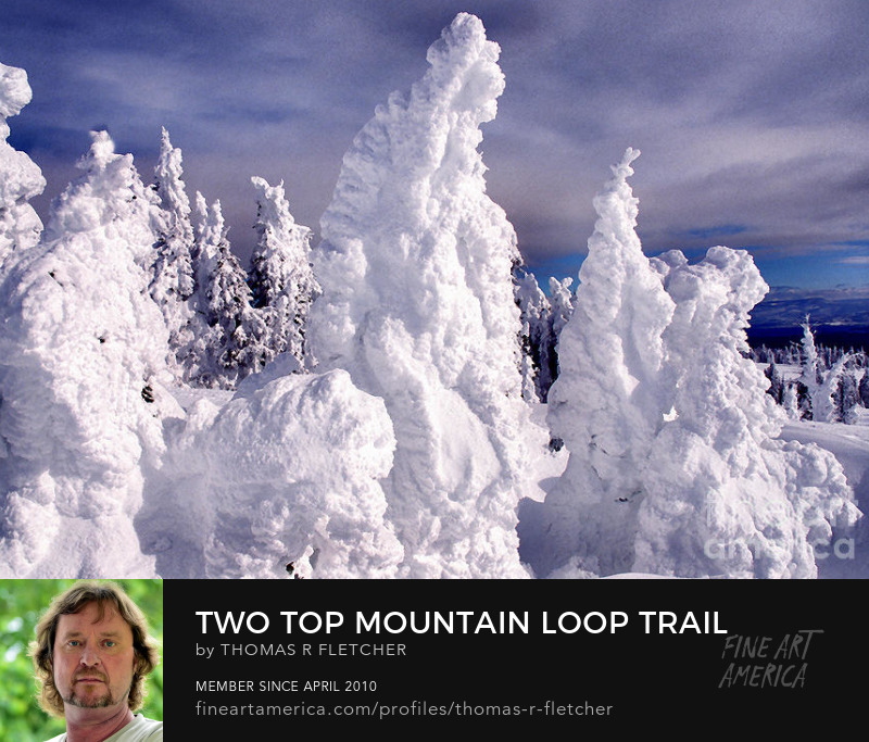 Snowmobiling Two Top Mountain Loop Trail