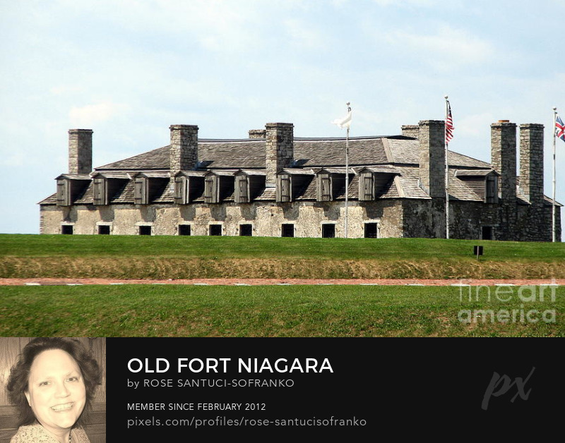 3 Flags at Old Fort Niagara Art Prints