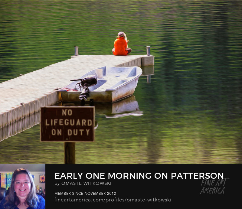 Early One Morning On Patterson Lake Methow Valley