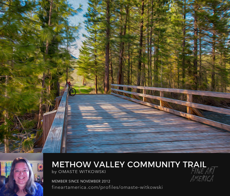 Methow Valley Community Trail At Wolf Creek Bridge Methow Valley Trails