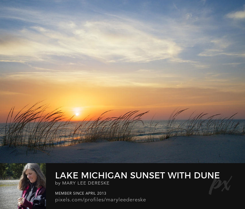 ake-michigan-sunset-with-dune-grass-mary-lee-dereske