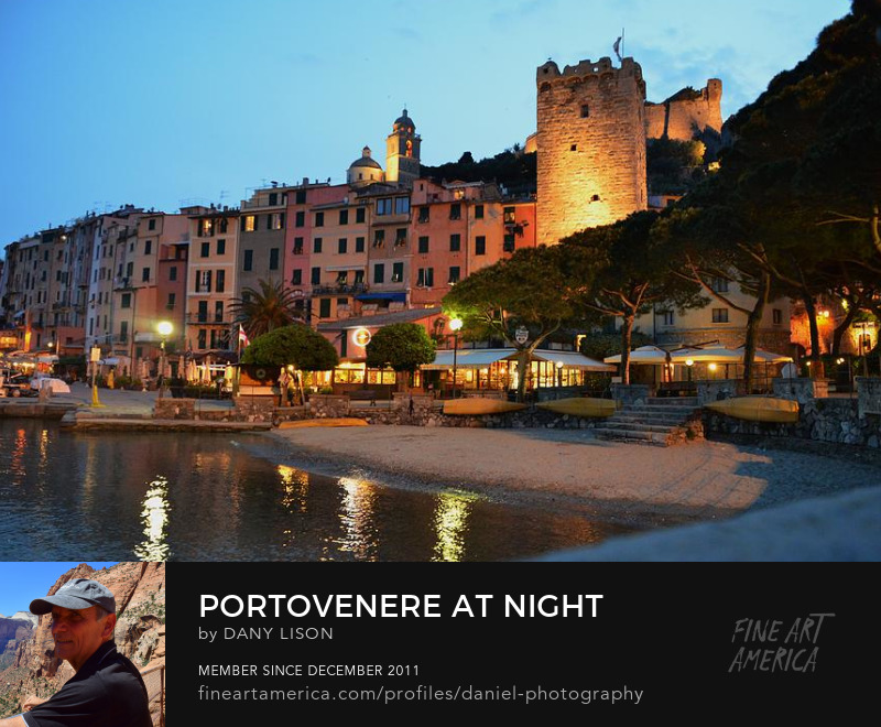 Portovenere at night