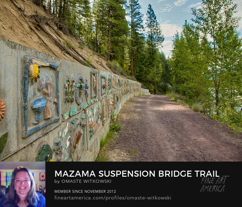 Mazama Suspension Bridge Trail Methow Valley Trails
