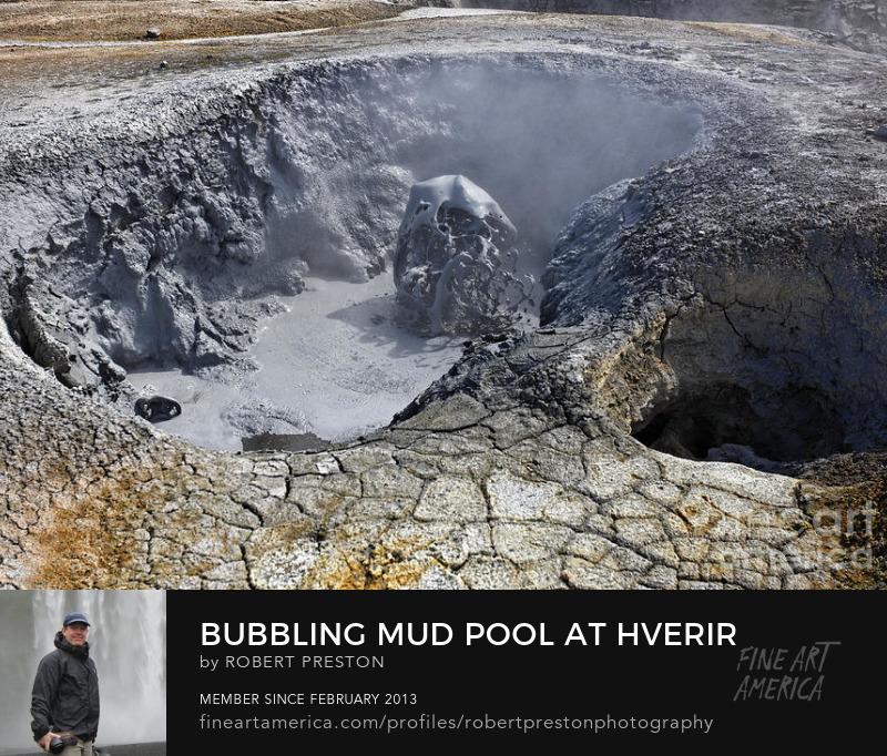 Hverir mud pool Iceland