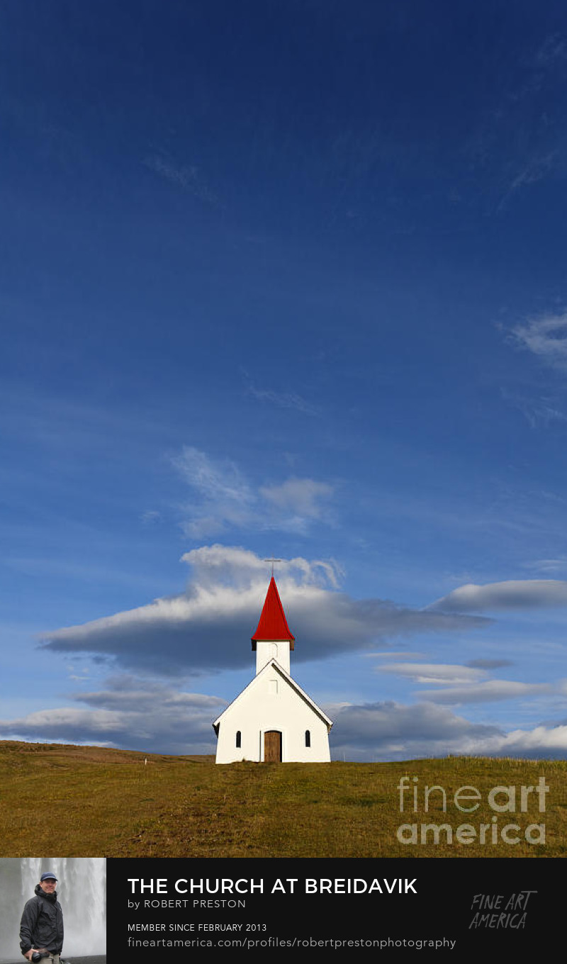Breidavik Church Iceland