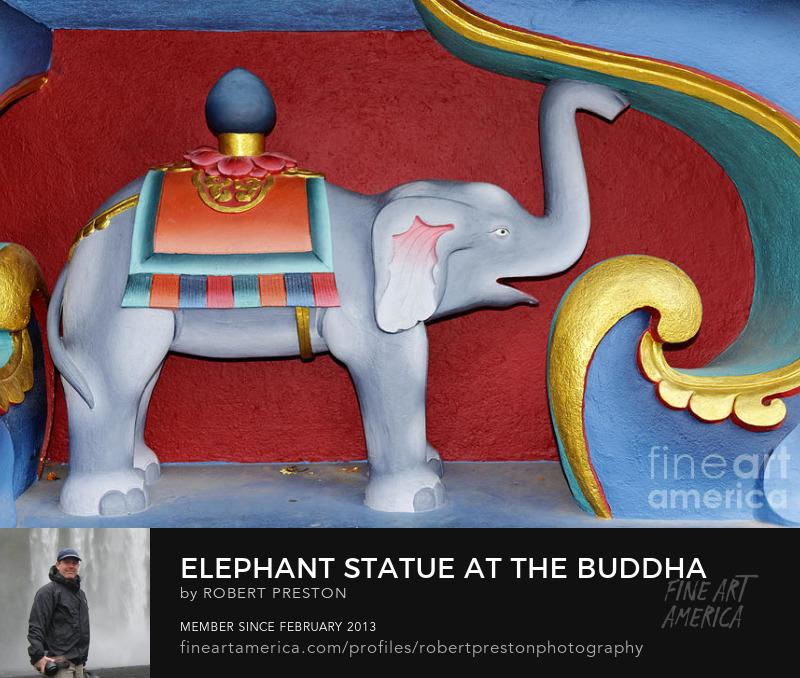 Elephant sculpture Kathmandu