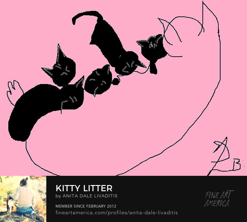 Kitty Litter by Anita Dale Livaditis