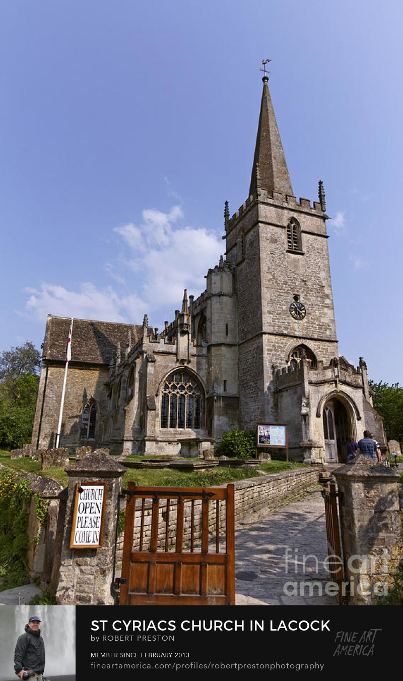 St Cyriacs church in Lacock