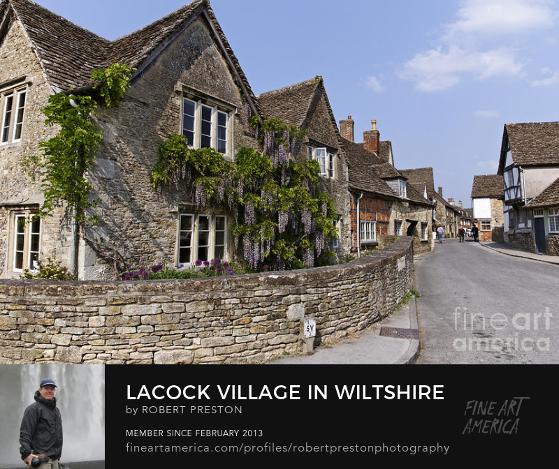 Lacock Village Cotswolds