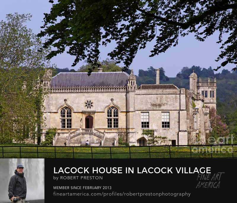 Lacock Abbey in Wiltshire