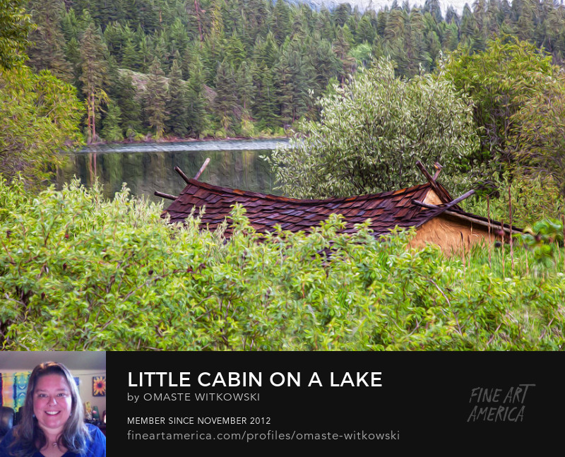 Little Cabin On A Lake Methow Valley