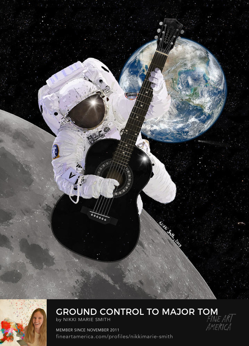 Ground Control to Major Tom Artwork