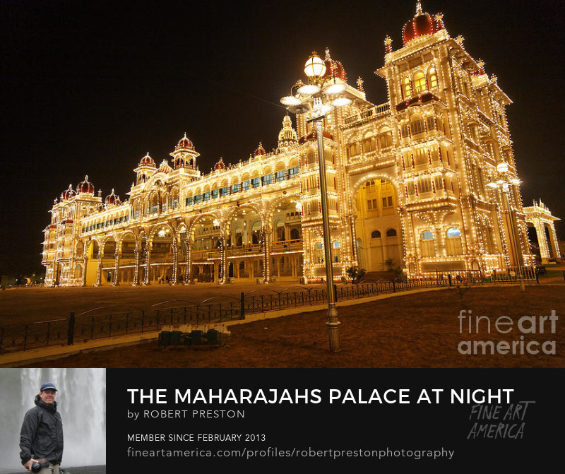 Mysore palace lightbulb display