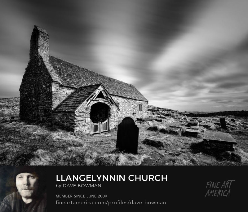 Llangelynnin Church by Dave Bowman