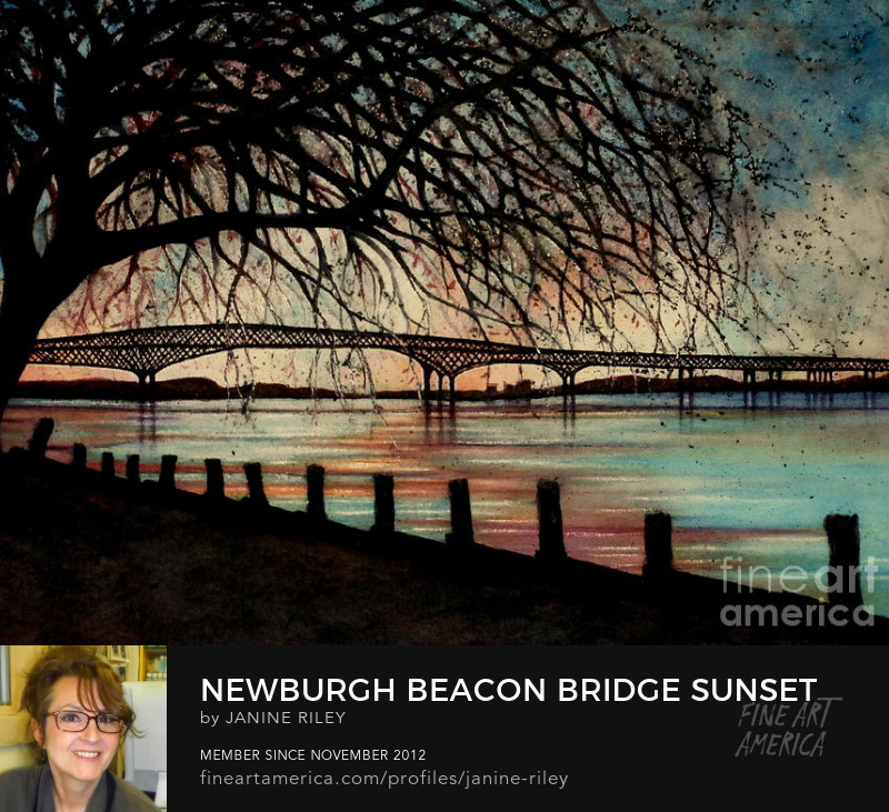 Janine Riley Newburgh - Beacon bridge