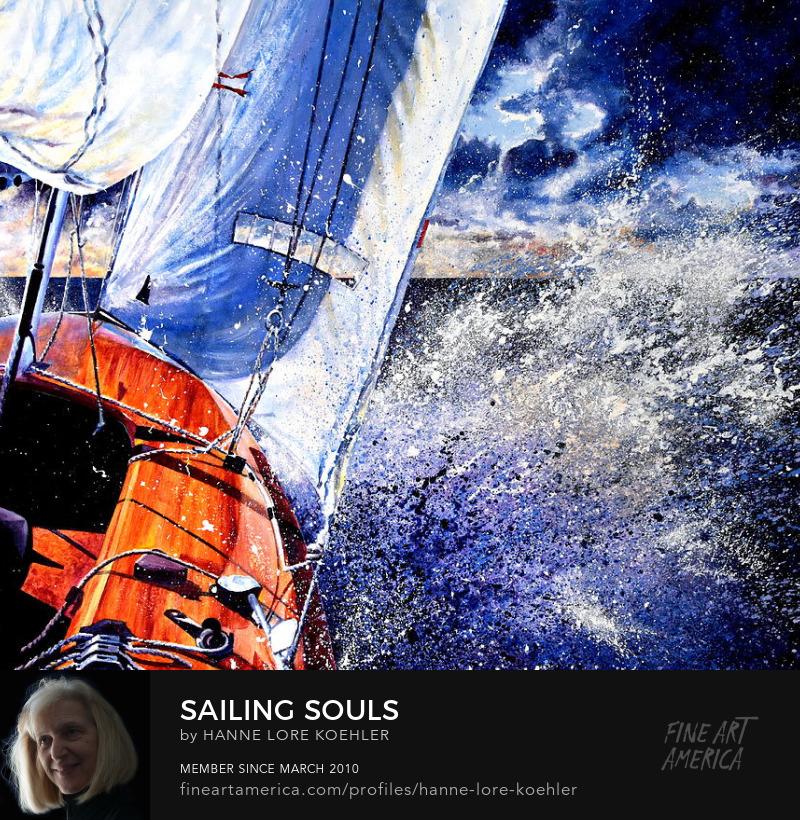 Sailing Souls Painting