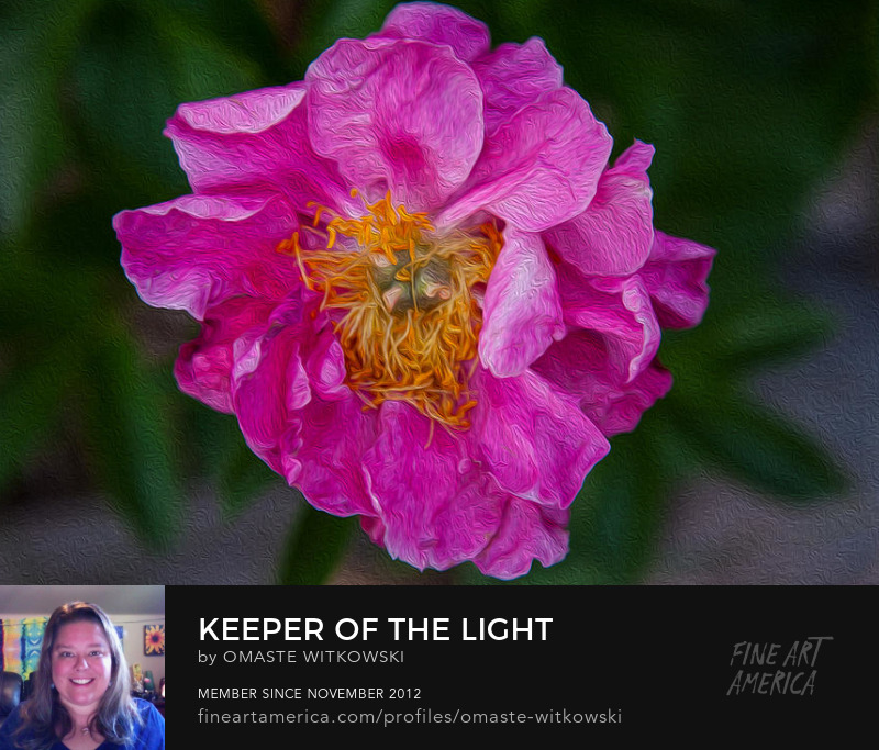 Keeper Of The Light Garden Photography Prints