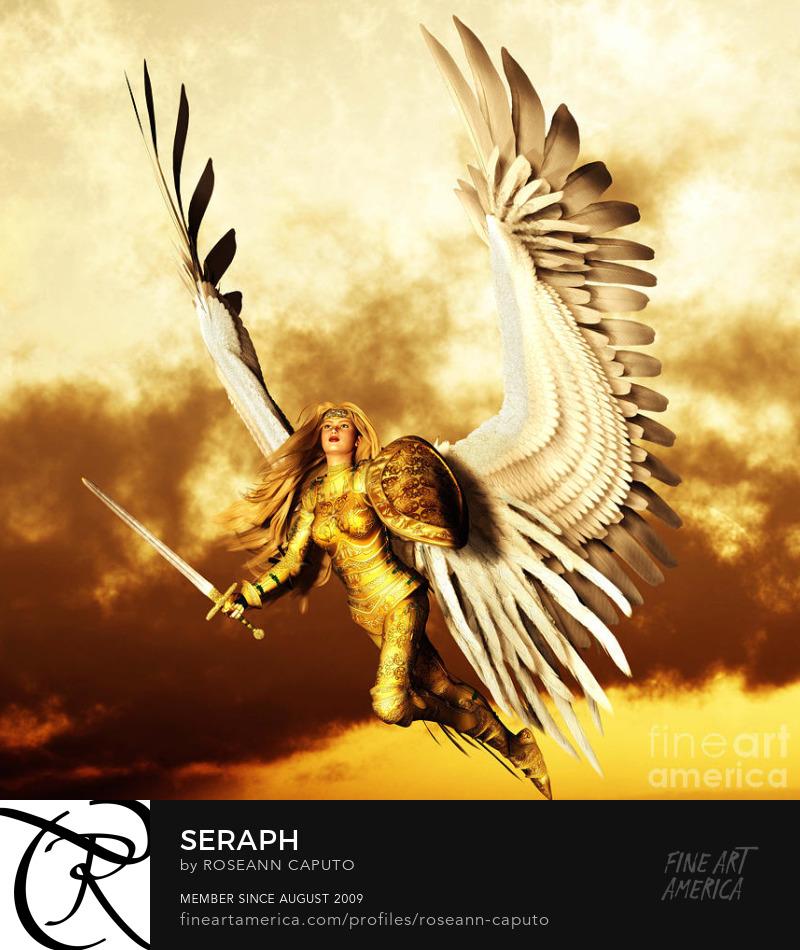 Seraph by Roseann Caputo