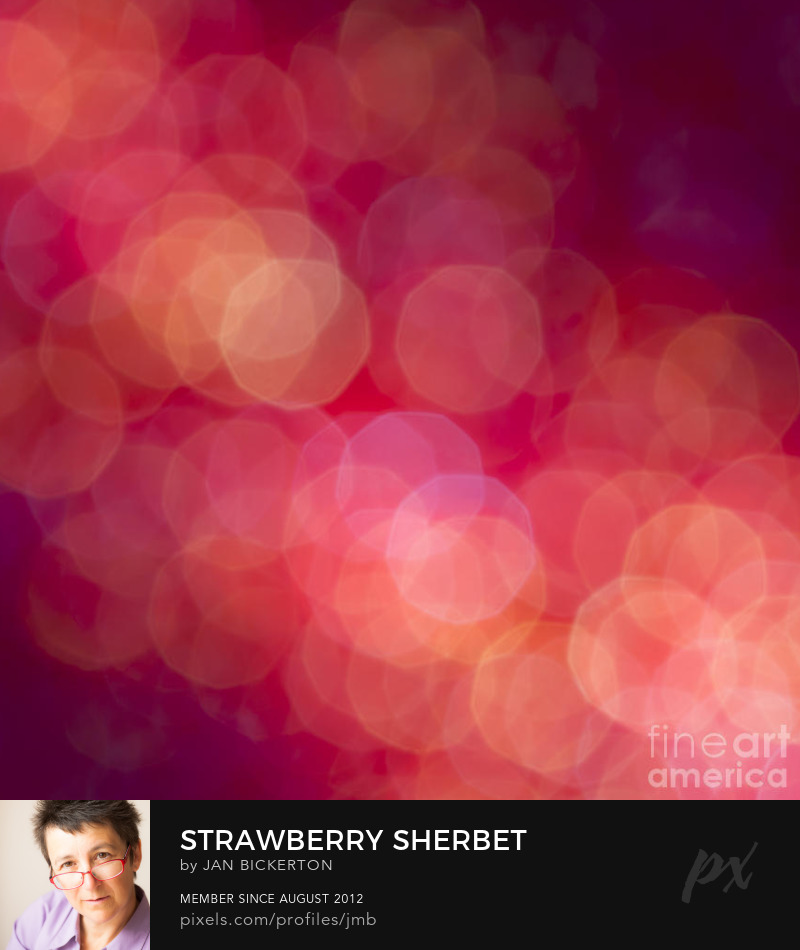 Abstract bokeh photography by Jan Bickerton