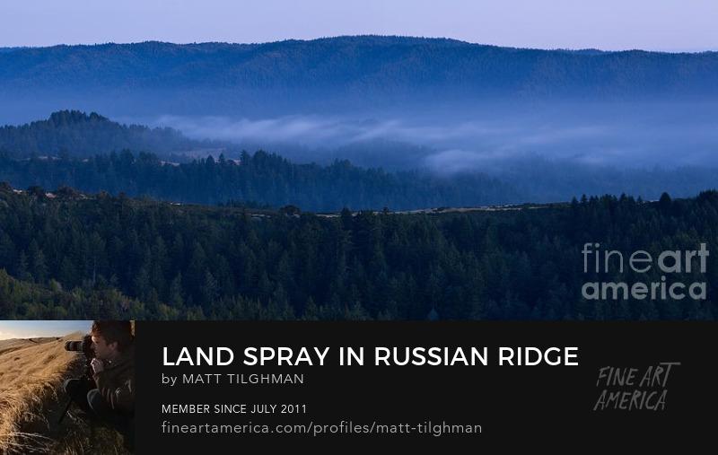Russian Ridge Open Space Long Exposure Art Prints