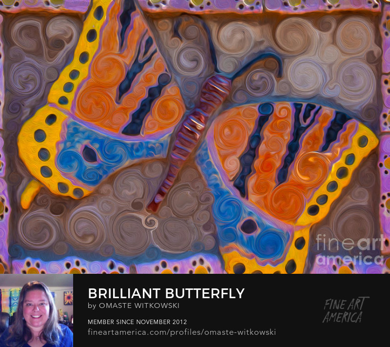 Brilliant Butterfly Windows Into The Wild Art Prints