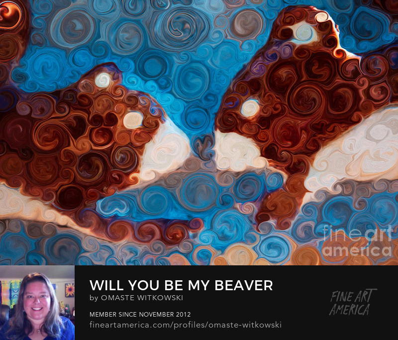 Will You Be My Beaver Windows Into The Wild Art Prints