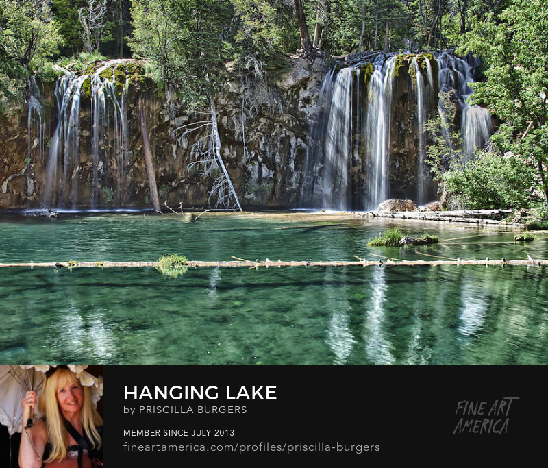 Hanging Lake photo by Priscilla Burgers for sale