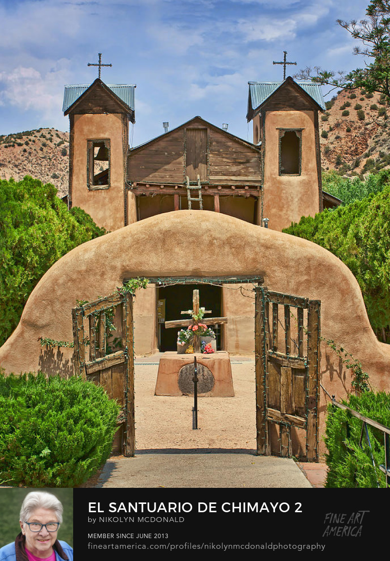 northern new mexico catholic chapel in chimayo by nikolyn mcdonald