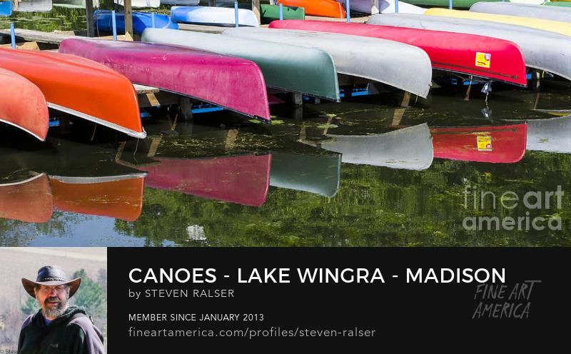 lake Wingra canoes, Madison,Wisconsin