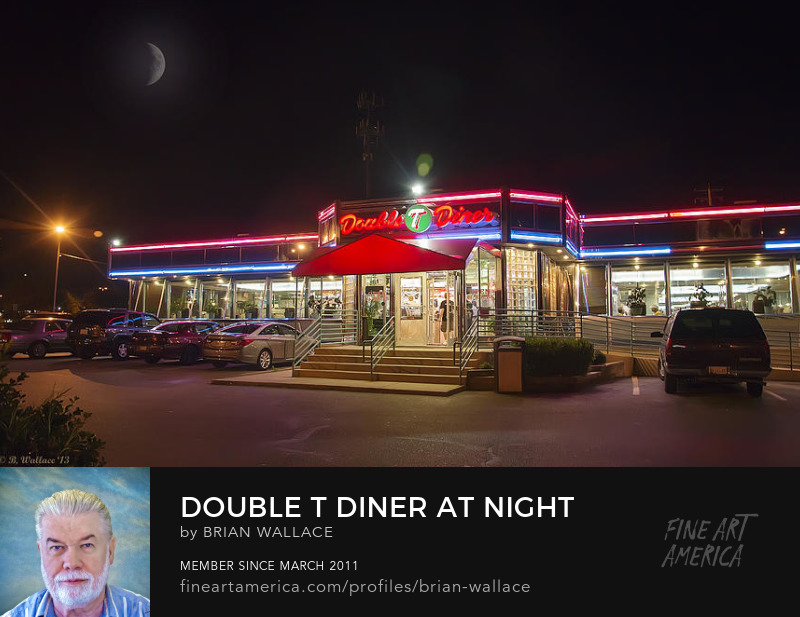 Double T Diner At Night by Brian Wallace