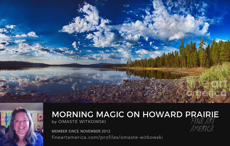 Morning Magic On Howard Prairie Lake