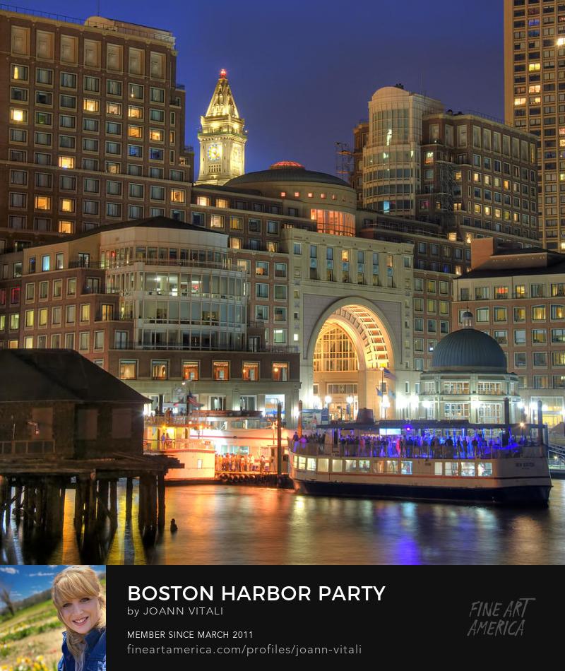 Boston Harbor Prints