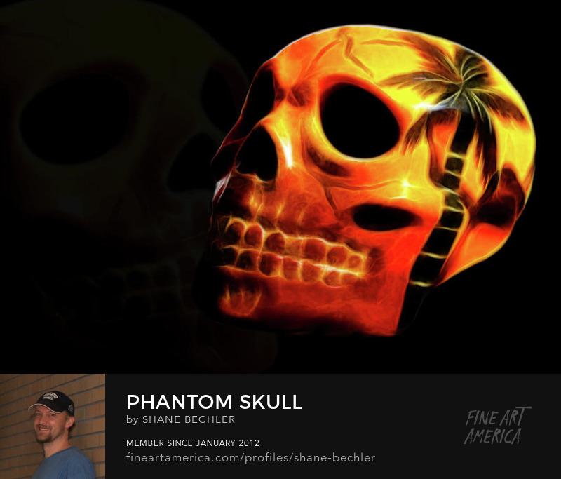 Phantom Skull by Shane Bechler