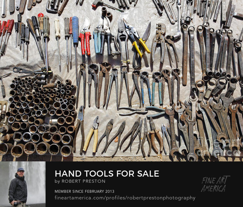 Hand tools at Ashgabat Sunday Market